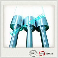 High Quality Fused Silica Rollers In China Glass Machine For Tempering Unit