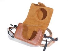2015 factory custom cheap waterproof leather camera bag