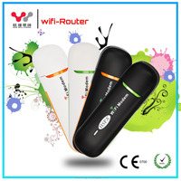 Portable factory sales mini 3g wifi dongle with sim card slot