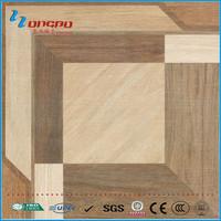 600*600 spanish design wood like porcelain tile for floor