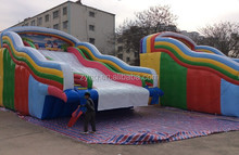2015 giant inflatable water slide for adult