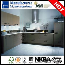 made in china laminate material kitchen cabinet table top free design