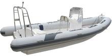 6.8m rib boat CE certificate rigid inflatable rib boat for sale
