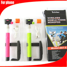 accessories for cell phone smartphone wireless monopod bluetooth selfie stick for iphone and for samsung bluetooth selfie stick