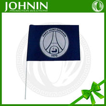 sublimation gifts with all kinds logo with pp or pvc stick hand flag