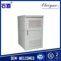 Hot selling battery rack cabinet SK-220/Outdoor enclosure for battery storage/air conditioner metal case