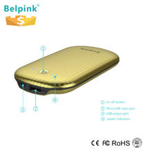 2015 belpink best quality solar power bank