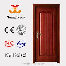 luxury soundproof painted veneer solid wood door for hotel