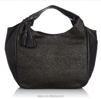 Lelany brand new design fasion hobo bags for ladies raffia straw bag