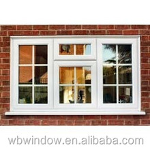Styles windows for homes PVC frame casement grills design windows,PVC side hung windows and doors