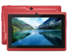 7 inch Quad Core Tablet PC Q88 with Android 4.4.4 Dual Camera 512M 4G Q88 Tablet PC 7