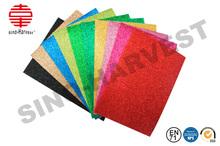 Best selling certificated glitter rubber EVA foam sheet for craft work