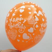 Birthday party decoration balloon/Latex printed balloon