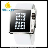 best selling TVG jelly silicon vogue unisex 3ATM waterproof digital watches(WJ-4228)