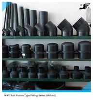 larger diameter pe100 pe80 fittings for water supply
