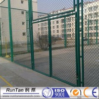 5 foot PVC coated diamond wire mesh, chain link wire fence (manufacturer)