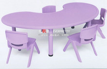 New Desigh Plastic School Kid Desk and Chair For School Furniture
