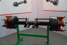 Spider Axle German type bpw Square Tube Factory Direct