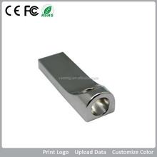 USB 3.0 Large capacity Metal USB flash drive, High speed mini usb with best price, promotional usb flash