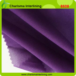 25-120gsm Dotted Colorful Woven fusible Interlining