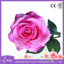 2015 multiple colours latex flower artificial rose wedding rose wholesale