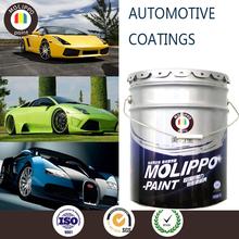 Good sanding property car metallic green paint