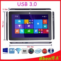 10.1 inch intel tablet pc windows systemTablet mini laptop computer Quad core Dual camera Bluetooth GPS tablet pc