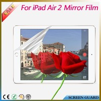 High quality mirror screen guard/protector/film for ipad 5 Air tablet