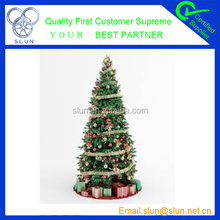 Fashionable festival decoration hot selling crochet christmas trees on alibaba