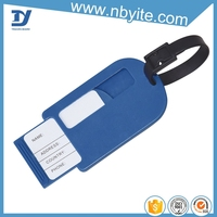 Factory price hard plastic luggage tag made in china zhejiang