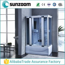 China wholesale square shower room, shower Cabin with Steam, steam bathroom shower
