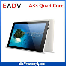 Shenzhen factory bulky stock pad , E105 10 inch allwinner A33 quad core android tablet
