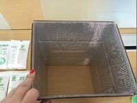 shanghai manufacture aluminum foil insulation box for food