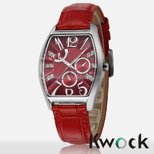 Rose Gold Fashion Watch With Chronograph And Diamond Dial In The Stainless Steel Popular Watch