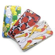 3D So cute bird custom design hard pc cellphone case for iPhone I5 I6 plus at factory price