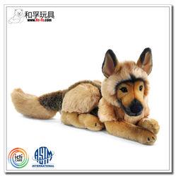 Stuffed animated animals plush german shepherd