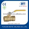 BT1015 NPT PN40 full bore Brass Ball valve high quality supplier