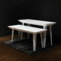 Fashion Store Display Rack Bench and Stool