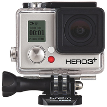Perfection for New Go Pro HD Hero 3+ Black Edition Wi-Fi Video Camera + Wasabi Battery Pack + 16GB Micro SDHC + Carrying Case +