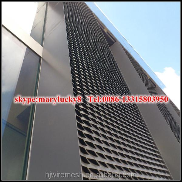 panneau de mur ext rieur en aluminium m tal d ploy fa ade ext rieur m tal d ploy mesh. Black Bedroom Furniture Sets. Home Design Ideas