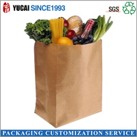 2015Wholesale Vegetable and Fruit Paper Bags