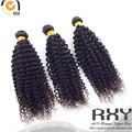 China diez vendiendo productos afro rizado cabello humano para trenzado