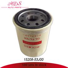 Del coche del filtro de aceite para nissan bluebird u13 oem: 15208- 53j00