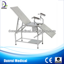DR-208 Gynecology Stainless Steel Delivery Bed Manual