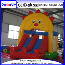 company picnics inflatable bounce bed