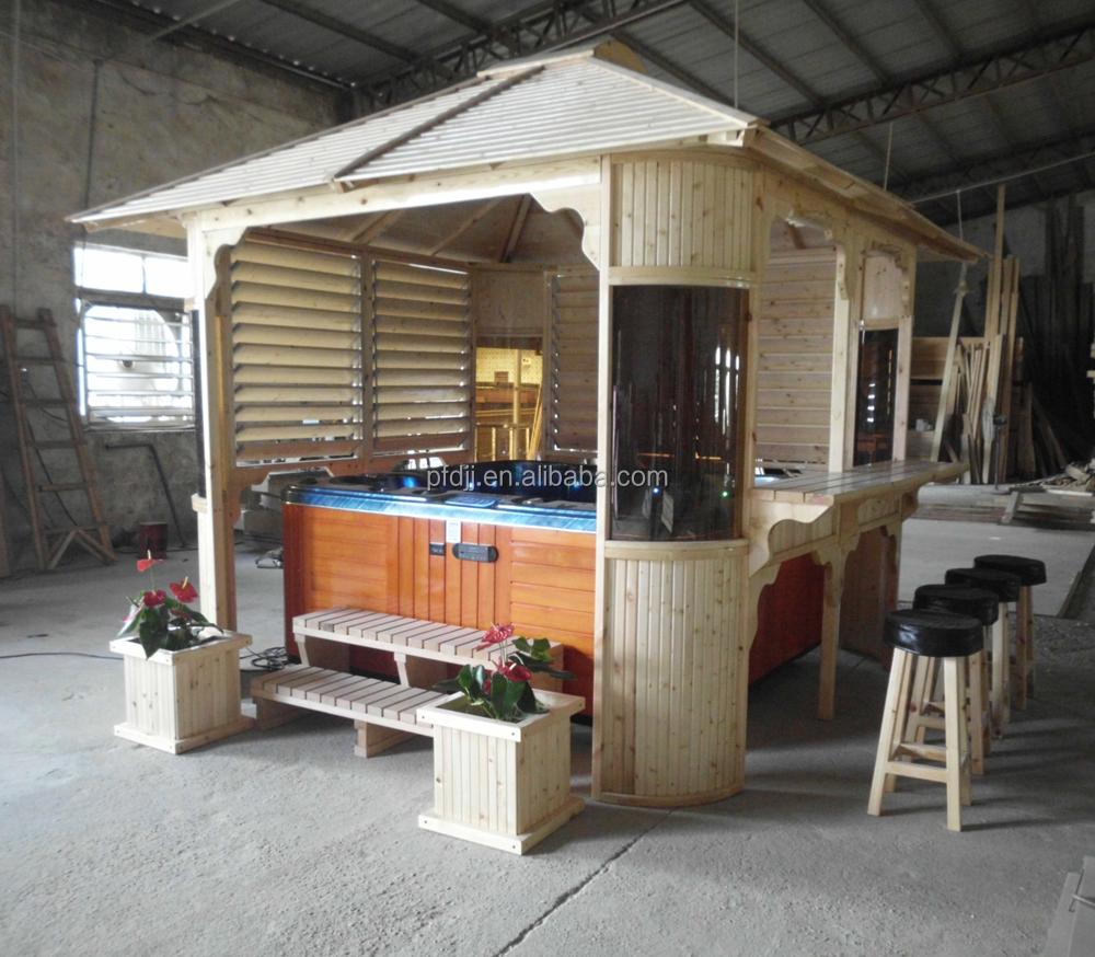 en bois kiosque pr sentoire id de produit 60056828073. Black Bedroom Furniture Sets. Home Design Ideas