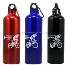 Factory price Logo Printed Cheap Aluminum Sport Water Bottle/ Sport Drinking Bottle