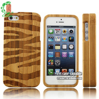 Laser Printer Wood Carve Flower Moulding Laser Engraving Tattoo Case for iPhone 5s