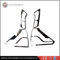 Car exterior accessories ABS chrome body part tail light cover for Japan car