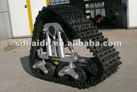 rubber track conversion system kits and tractor rubber track system